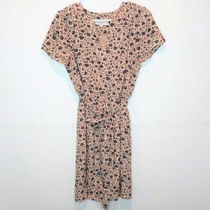 Ann Taylor Loft Flower Dress Sleeveless Size M
